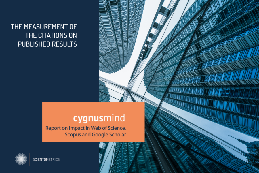 CygnusMind Report on Impact in Web of Science, Scopus and Google Scholar