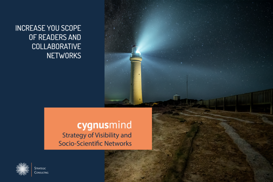 CygnusMind Strategy of Visibility and Socio-Scientific Networks