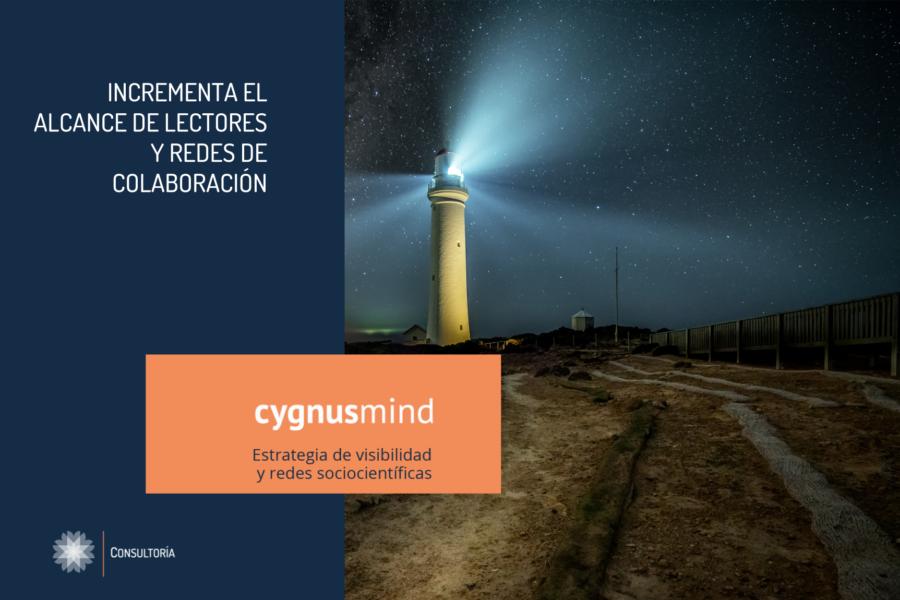 CygnusMind Estrategia de visibilidad y redes sociocientíficas