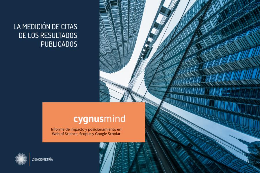 CygnusMind Informe de impacto y posicionamiento en Web of Science, Scopus y Google Scholar